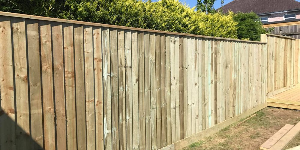 decking fencing